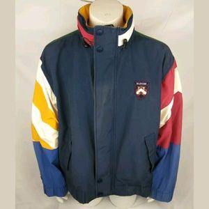 10c37af630bb3d ... Hilfiger Jackets Coats - VINTAGE TOMMY HILFIGER JACKET COLOR BLOCK XL  pretty nice 4b243 f5363  Tommy Hilfiger Shirt Blue XLarge - BLOC Vintage  Clothing ...